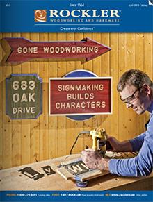 Picture of Internet questions and answers from Rockler Woodworking and Hardware catalog