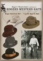 Roger's Western Hats