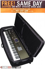Image of keyboard gig bag from Same Day Music catalog