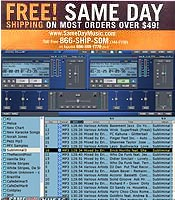 Image of professional dj software from Same Day Music catalog