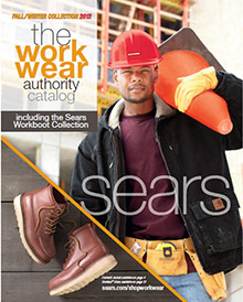 Picture of workwear clothing from Sears Workwear catalog