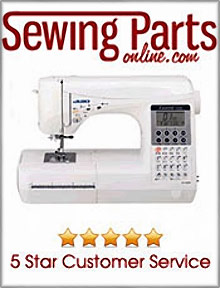 Picture of sewing machine parts from Sewing Machine Parts catalog