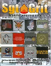 Picture of marine corps clothing from Sgt Grit Marine Corps Specialties catalog