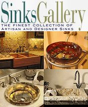 Picture of artisan sink from Sinks Gallery catalog