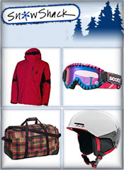 Image of transpack ski bags from Snow Shack catalog