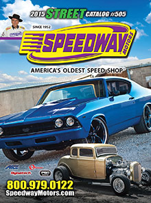 Picture of street rod parts from Street Catalog by Speedway Motors catalog
