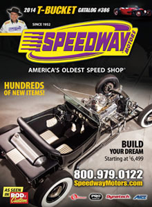 Picture of T Bucket parts from T Bucket by Speedway Motors  catalog