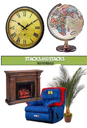 Image of decorative home decor from Stacks and Stacks  catalog