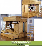 Image of kids storage furniture from Stacks and Stacks  catalog