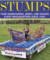 Image of parade float kits from Stumps Spirit Catalog catalog