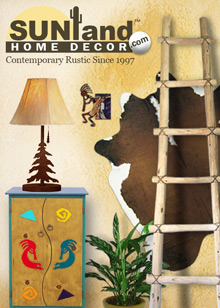Picture of home decorating from Sunland Home catalog