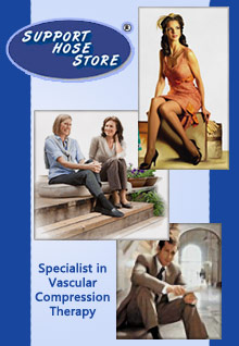 Picture of Jobst stockings from Support Hose catalog