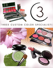 Picture of custom cosmetics from Three Custom Color catalog