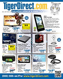 Picture of desk top computers from TigerDirect catalog