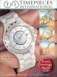 Picture of luxury timepieces from Timepieces catalog