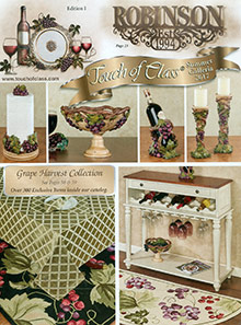Picture of home accents furnishings from Touch of Class catalog