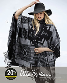 Picture of plus size outfits from Ulla Popken catalog