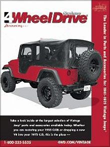 Picture of Jeep replacement parts from Vintage Jeeps � Four Wheel Drive Hardware catalog