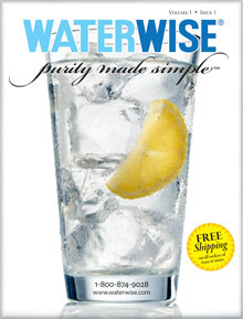 Picture of water distillers from Waterwise catalog
