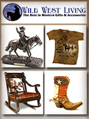 Picture of western accessories from Wild West Living catalog