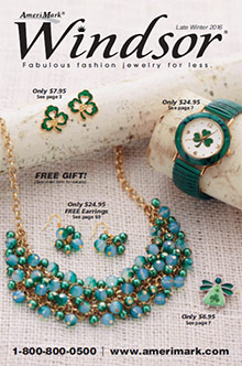 Picture of windsor jewelry catalog from Windsor Collection catalog
