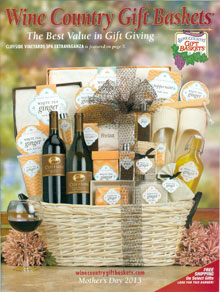 Picture of Wine Country gift baskets from Wine Country Gifts catalog