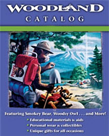 Image of smokey bear collectibles from Woodland Catalog catalog