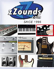 Picture of Marshall amplifiers from zZounds catalog