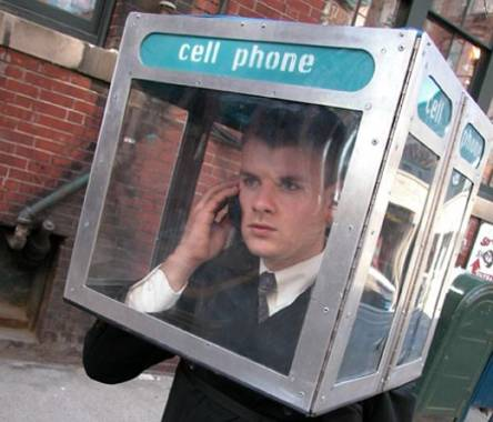Cellphone Booth