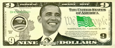 Obama Funny Money