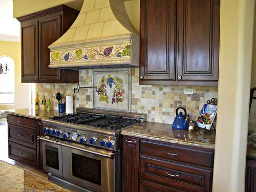 Tuscan color pallette. If you are going for a Tuscan inspired kitchen