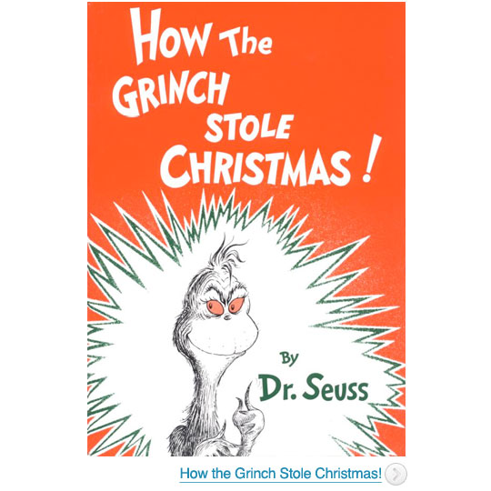 One of the top ten childrens Christmas books