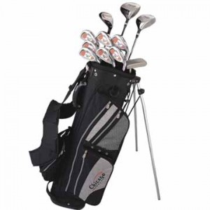 Golf equipment or a golf trip says I love you to the avid golfer.