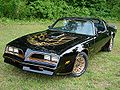 Smokey and Bandit is in the top ten trans am in movies and tv
