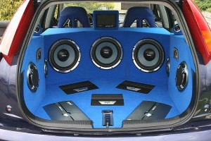 Sound system is one of the top ten ways to customize your ride