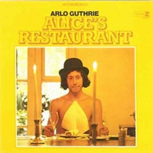 Arlo Guthrie is on the list of top ten famous folk music artists