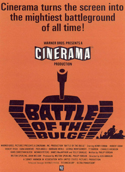 Battle of the Bulge is one of the top ten war movies