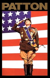 Patton is on the list of the top ten war movies
