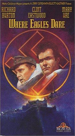 Where Eagles Dare is on the list of top ten war movies