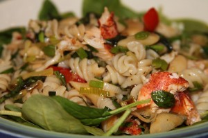 Lobster pasta is one of the top ten lobster tail recipes
