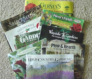 Garden catalogs in the mail are a sure sign of Spring