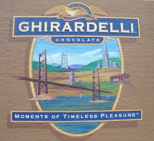 Ghirardelli chocolates are on the list of top gifts for high school graduates
