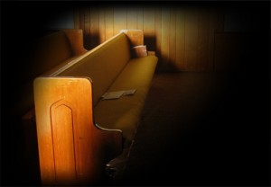 An empty pew where family was supposed to be is a wedding mishap