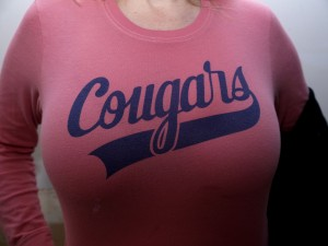 Being a cougar is a great tip for making yourself feel younger.