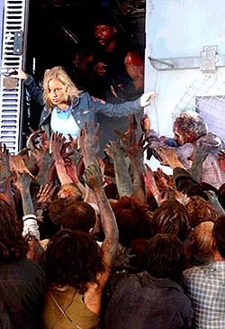 Dawn of the Dead is one of the top ten zombie movies