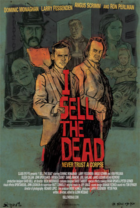 I Sell the Dead is in the list of top ten zombie movies