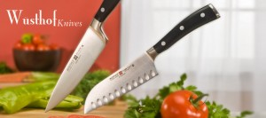 Gourmet knives make an excellent mother's day gift for cooking moms
