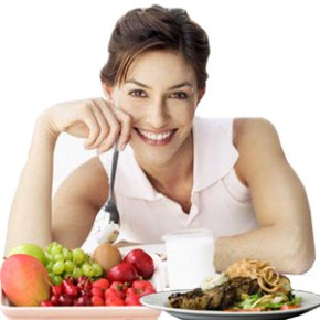 Tips to help you look younger include eating healthy.