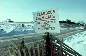 Love Canal is one of the top ten environmental disasters caused by humans
