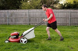 A sign of Spring is the sound of lawn mowers